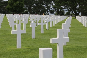The graves are randomly placed, not by rank or state. The birthdate is also not listed on any grave, presumably since so many of the young men lied about their age to join the Army.