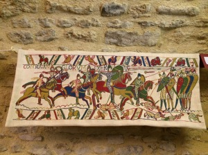 This image shows the mounted soldiers during the Battle of Hastings