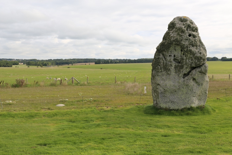 The Heel Stone, at the entrance to Stonehenge
