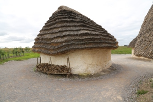 This reproduction is what Stonehenge scholars think is the type of home in which the builders would have lived