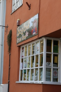 One of many shops in Glastonbury - Bag End Grow Shop