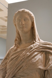 Demeter statue, 350-330 BC