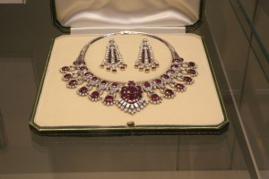 Cartier ruby and diamond necklace, 1956