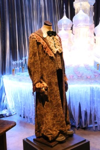 Ron's horrible dress robes from the fourth movie.