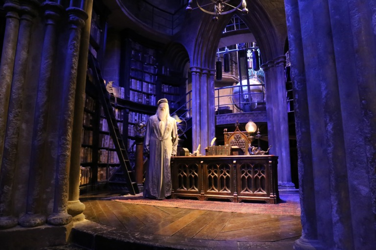 Dumbledore's Office - the detail in here was incredible.