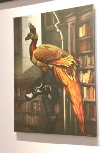 Fawkes concept art by Adam Brockbank