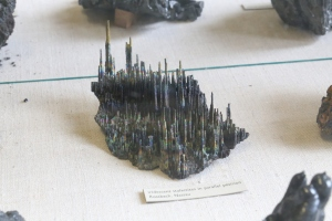 Iridescent stalactites