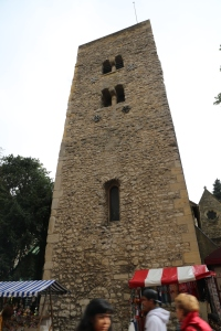 The Saxon Tower of St. Michael is the oldest building in Oxford - over 1,000 years old.