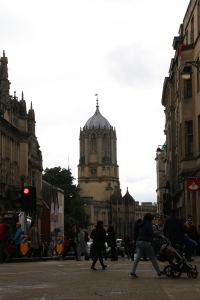 Tower from Christ Church College