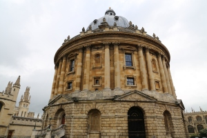 Radcliffe Camera, one of the library buildings part of the Bodleian Library.