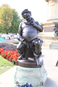 Falstaff - the lovable oaf who turns up in both Henry IV plays and Merry Wives of Windsor