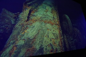 Some of the underwater images of the Titanic today.