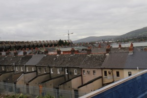 Rows of houses in Belfast