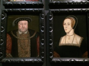 Henry VIII and Anne Boleyn by an unknown artist