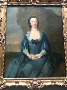 Flora McDonald by Richard Wilson. Flora famously smuggled Bonnie Prince Charlie away from the Culloden battlefield by dressing him in her clothes and thereby getting him to the Isle of Skye and out of the country. She spent 5 years in an English prison for this act of bravery but then became quite popular in London society.