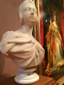 Queen Victoria - painting by Sir George Hayter and sculpture by Sir Francis Chantrey