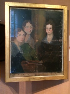 Anne Bronte, Emily Bronte, and Charlotte Bronte by Patrick Branwell Bronte. The most tragic family in English history.