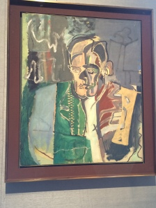 T.S. Eliot by Patrick Heron. I love how England claims him as their own. He was born in St. Louis, y'all.