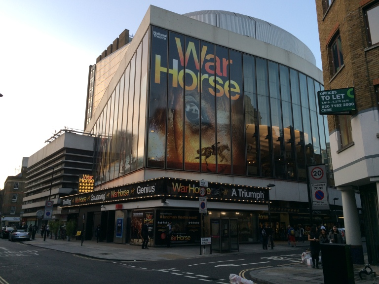 Exterior of the New London Theatre