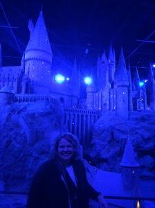 In front of Hogwarts Castle