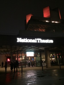 The exterior of the National Theatre building in the East End.