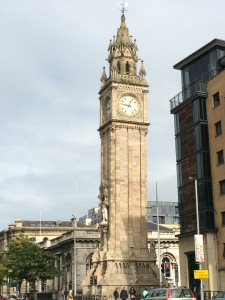 The Albert Clock, AKA the leaning tower of Belfast