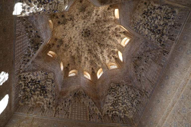 Stalactite ceiling in the Nasrid Palace