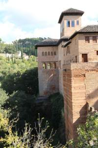 Exterior view of part of the Alhambra