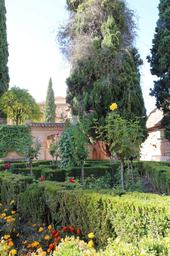 Just one section of the Alhambra gardens