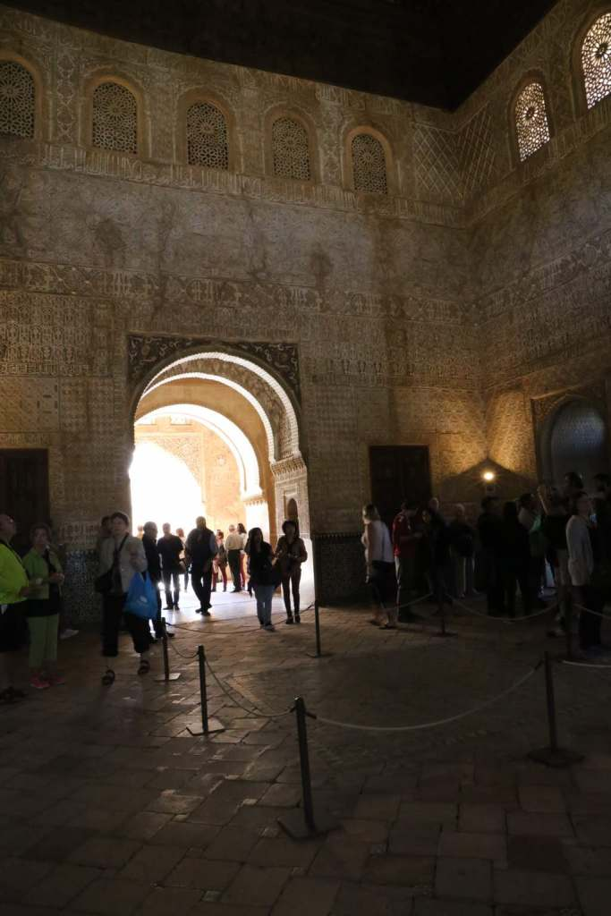 This is the Throne Room where the sultan would have heard petitioners