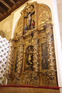 Altar piece in one of the chapels of the Cathedral