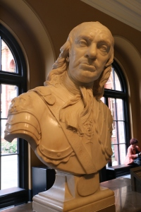 Bust of Oliver Cromwell by Joseph Wilton 1762