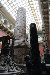 More views of the Cast Court room - Trajan's Column is the central attraction