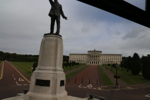 Parliament Buildings, where the Northern Ireland Assembly meets