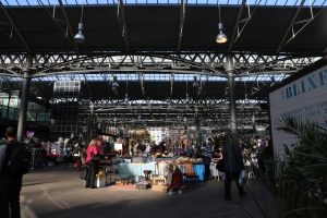 Spitalfields Market in the East End