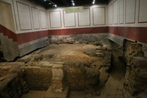 What's left of the Tepidarium
