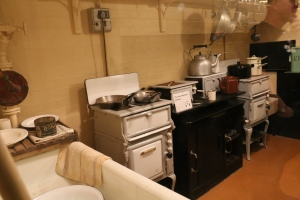 Churchill's kitchen in the War Rooms