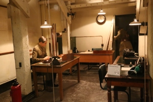 Another of the workspaces in the War Rooms