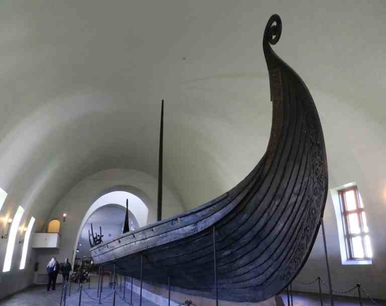 This is the Oseberg ship from the