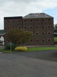 Bushmill Distillery, the oldest whisky distillery in the world, north of Belfast.
