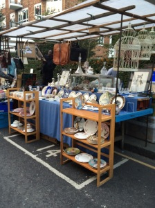A sample of the antiques for sale.