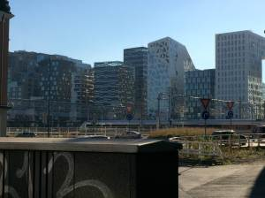 Just a part of the Oslo skyline