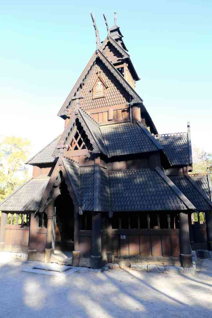 Stave church from the 13th century