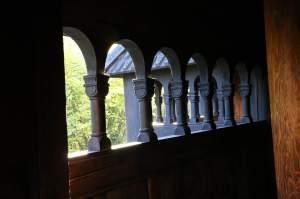 Stave church detail