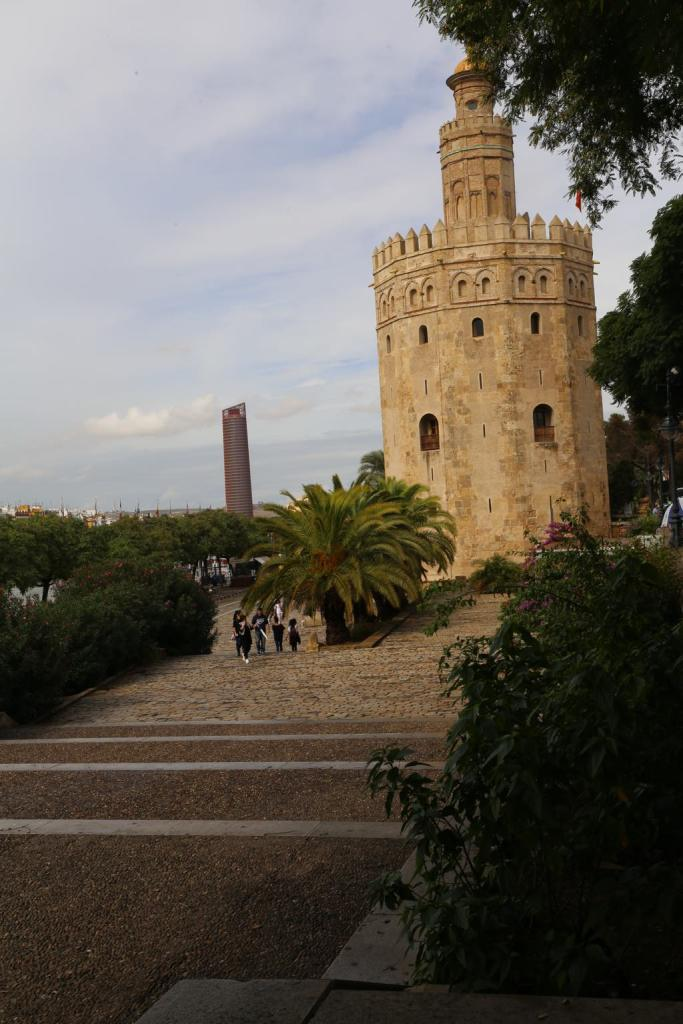 The Tower of Gold, so named because it was where the gold from the Americas was stored as it came in from the river in the 15-17th centuries.