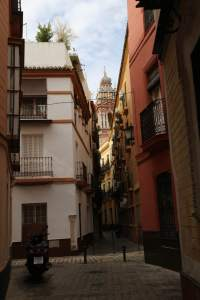 Another winding street in Seville