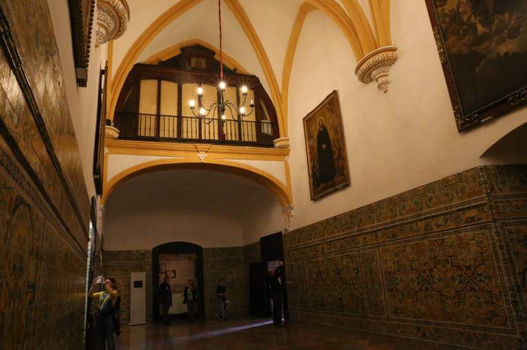 This Renaissance chapel is where Charles V's wedding took place