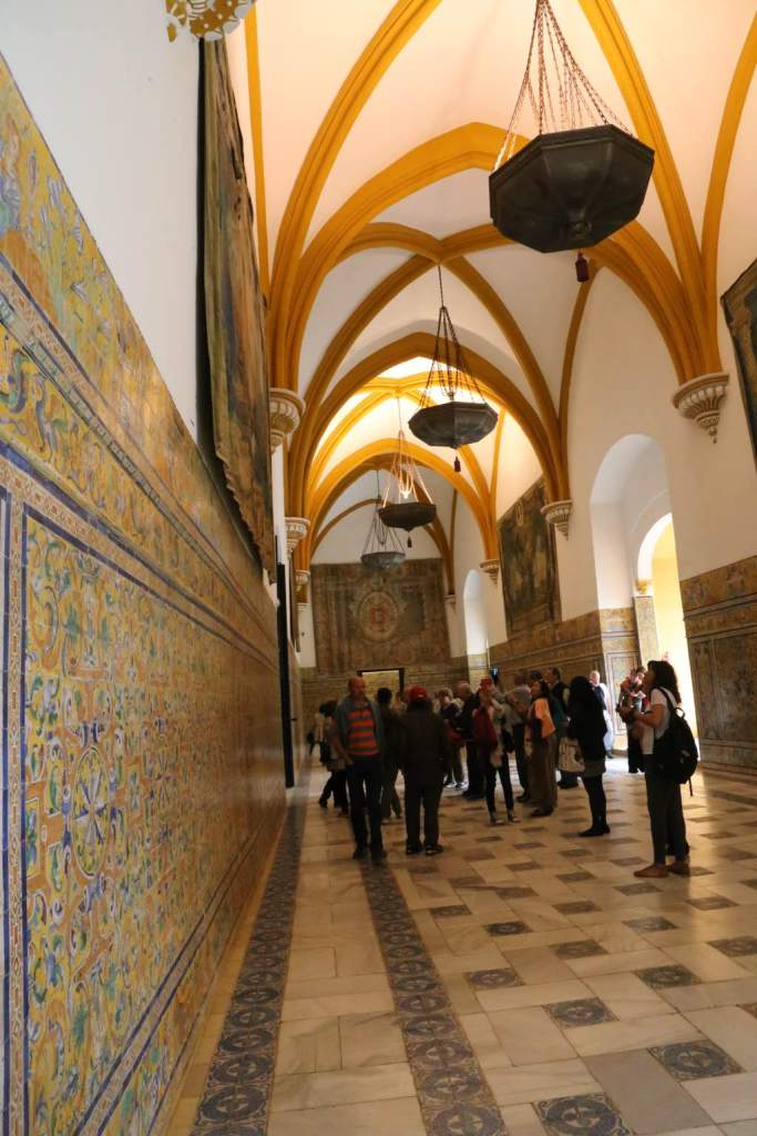 This grand hall was added during the Renaissance for Charles V's wedding