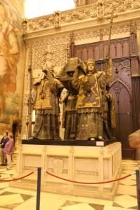 This super subtle installation is Columbus' tomb.