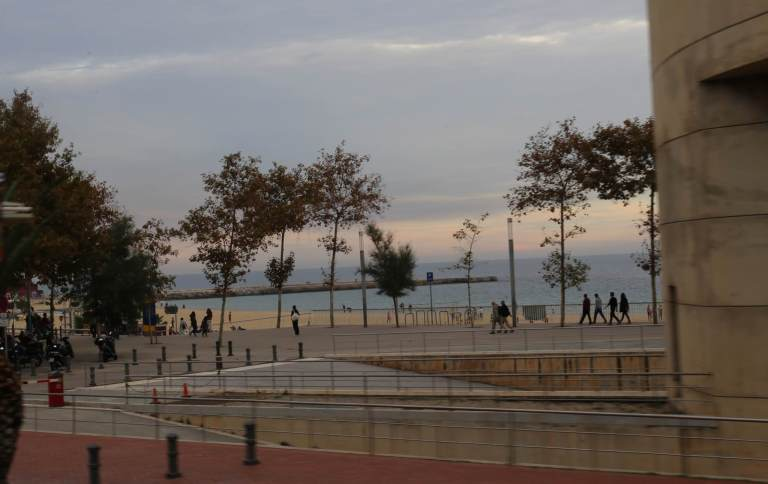 Barcelona harbor - near where the Olympic racing took place